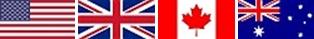 englische Flaggen