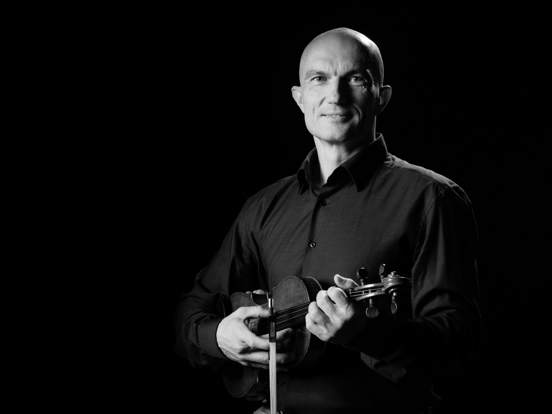 Portrait des Musikers Miroslav Großer